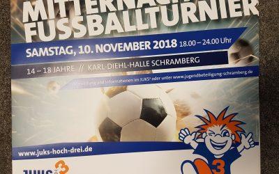 Mitternachtsfußballturnier 10.11.2018