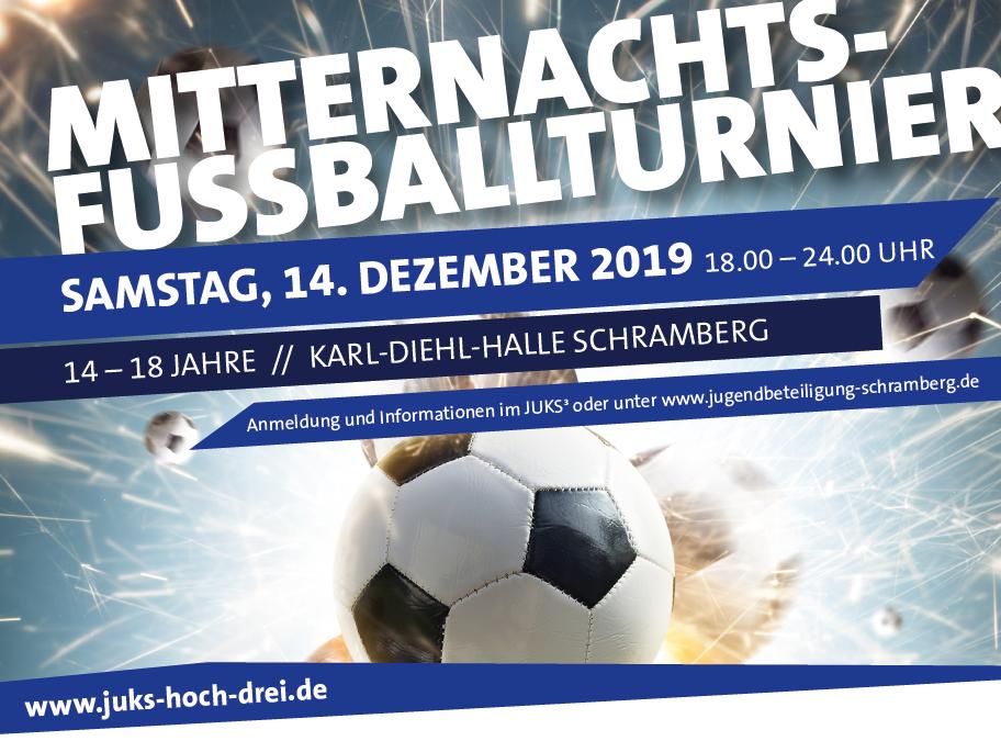 Mitternachtsfußballturnier 14.12.2019