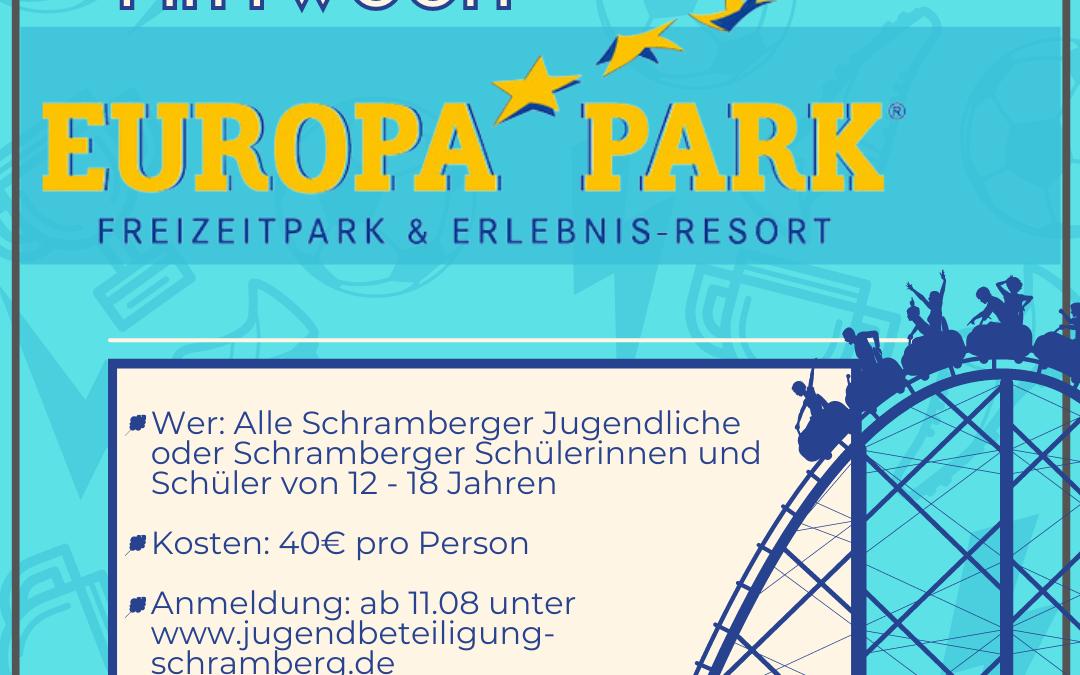 Ausfahrt Europapark Rust am 08.09.2021